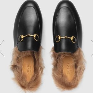 Authentic Gucci Princetown loafers 36